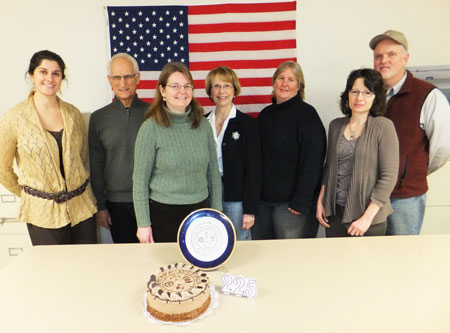 Celebrating 225th Anniversary With Cake