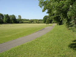Soccer Field and Walking Path