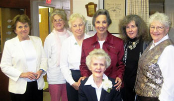 2012 Garden Club Officers