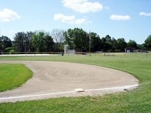 Town of Claverack Town Park baseball diamond