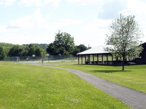 Town of Claverack Town Park basketball courts and pavillion