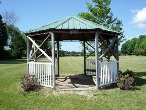 Town of Claverack Town Park gazebo